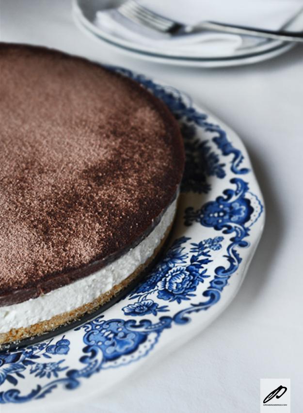 Cheesecake fredda al cocco
